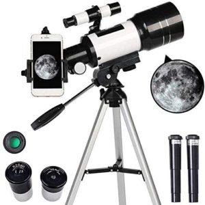 télescope réfractaire réflecteur